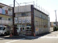 マルヨシ様の外壁塗り替えの施工前