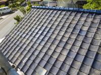屋根瓦の塗り替え 施工前