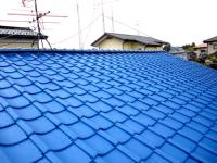 屋根瓦の塗り替え 施工後