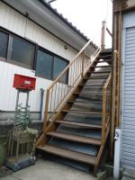 鉄骨階段の塗装 施工前